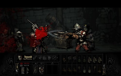 Darkest Dungeon build 24839 + DLCs (2016) PC RePack от xatab